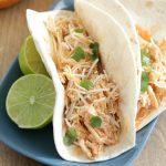 Slow Cooker Buffalo Chicken Tacos