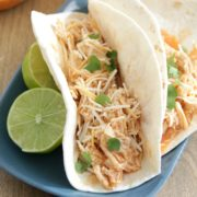 Slow Cooker Buffalo Chicken Tacos