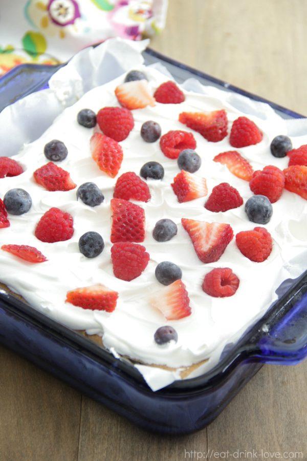 Berry Icebox Cake
