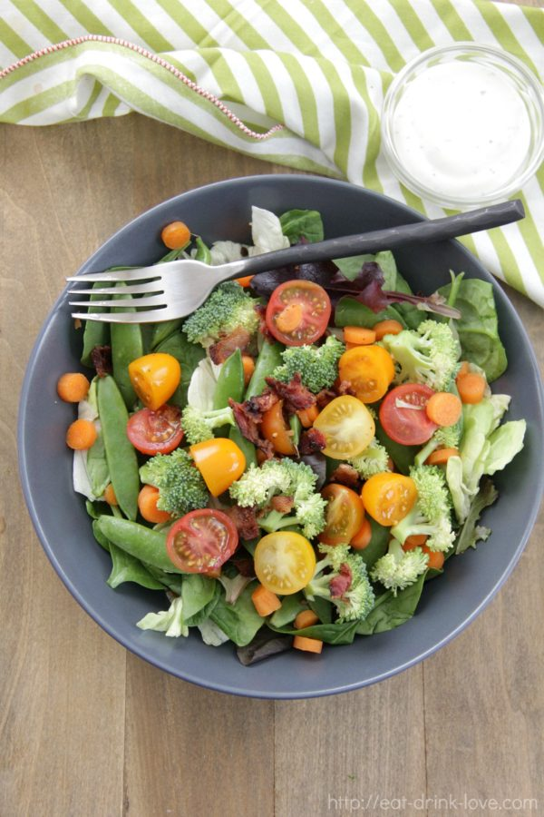 Chopped Spring Salad