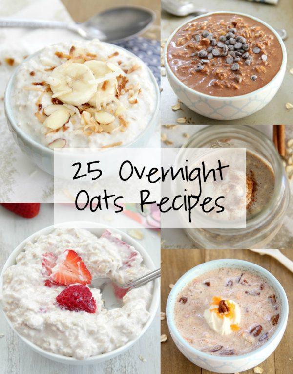 25 Overnight Oats Recipes