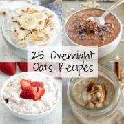 25 Overnight Oats Recipes
