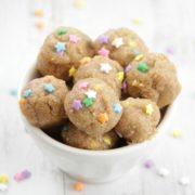 Healthy Cake Batter Bites