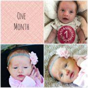 Natalie One Month