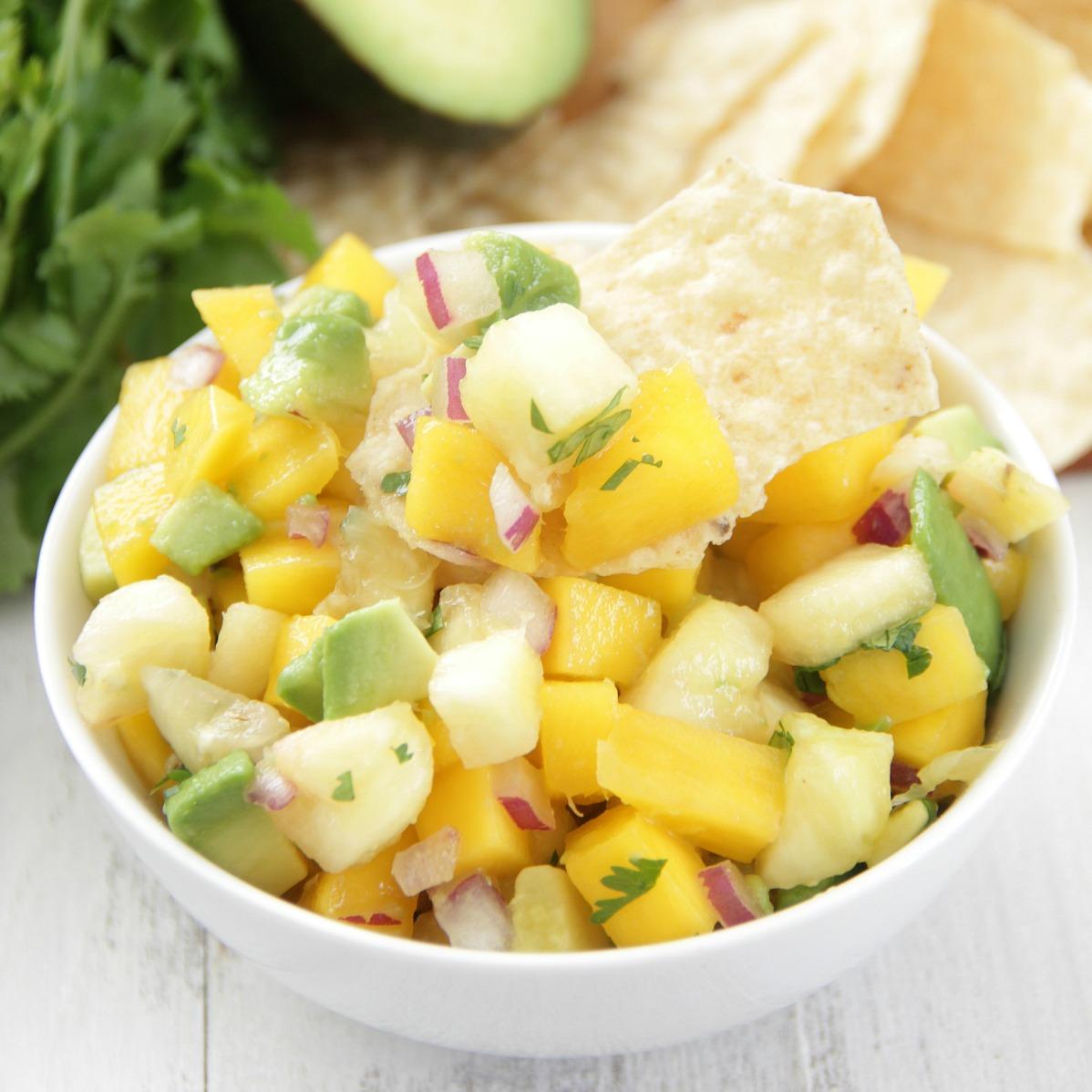 Pineapple Mango Salsa - Eat. Drink. Love.