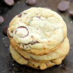 Salted Dark Chocolate Chip Cookies