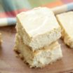 Skinny Pumpkin Cheesecake Bars