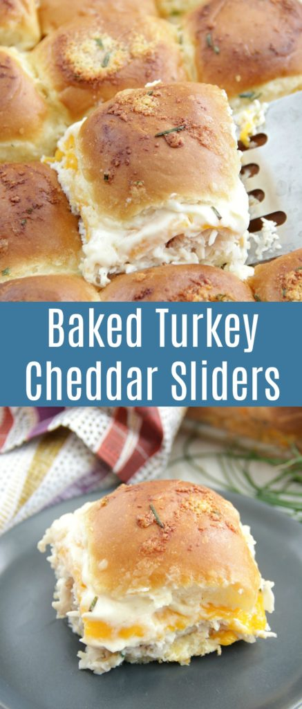 Baked Turkey Cheddar Sliders