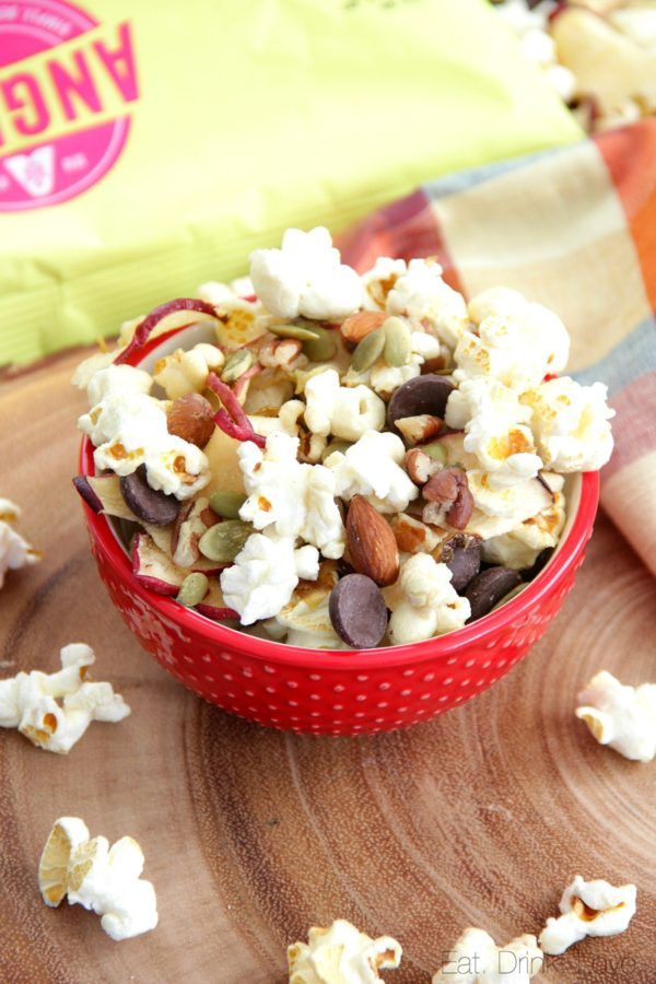 Fall Popcorn Snack Mix