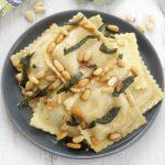 Browned Butter Butternut Squash Ravioli