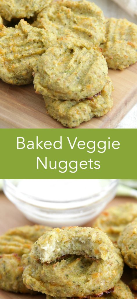 Baked Veggie Nuggets