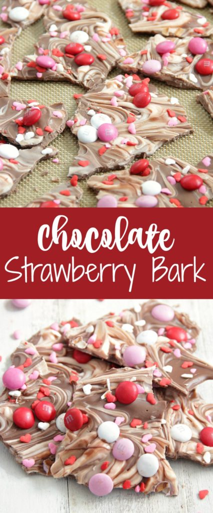 Chocolate Strawberry Bark
