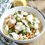 Roasted Vegetable Quinoa Bowls