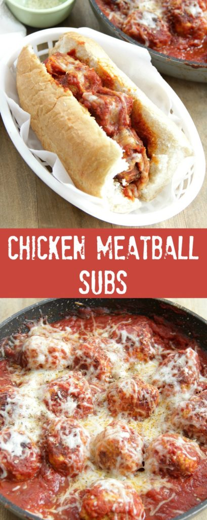 Chicken Meatball Subs