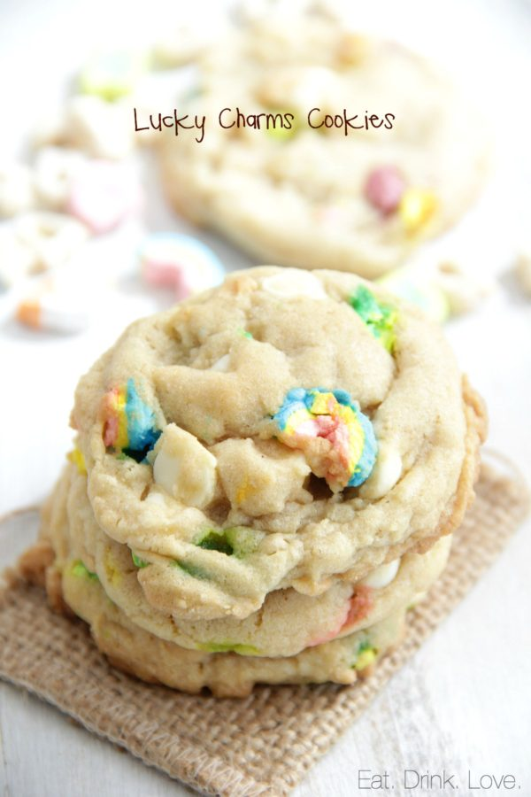 St. Patrick's Day, Lucky Charms Cookies