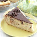 Ricotta Pie, cheesecake, Italian, chocolate chips
