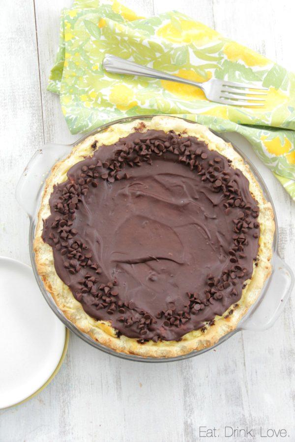 Ricotta Pie, cheesecake, Italian, chocolate chip