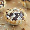 Dark Chocolate Pastry Cups