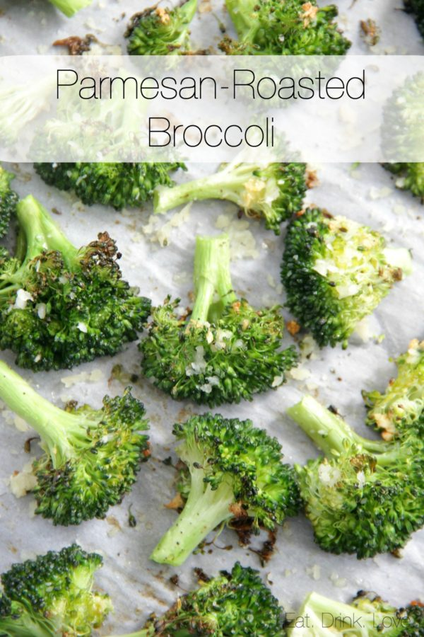 Parmesan-Roasted Broccoli, Garlic