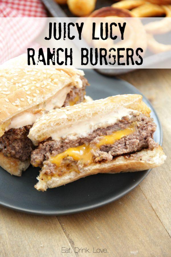Juicy Lucy Ranch Burgers