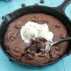 Nutella Skillet Brownie