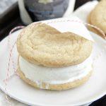 Vanilla Bean Ice Cream Sandwiches