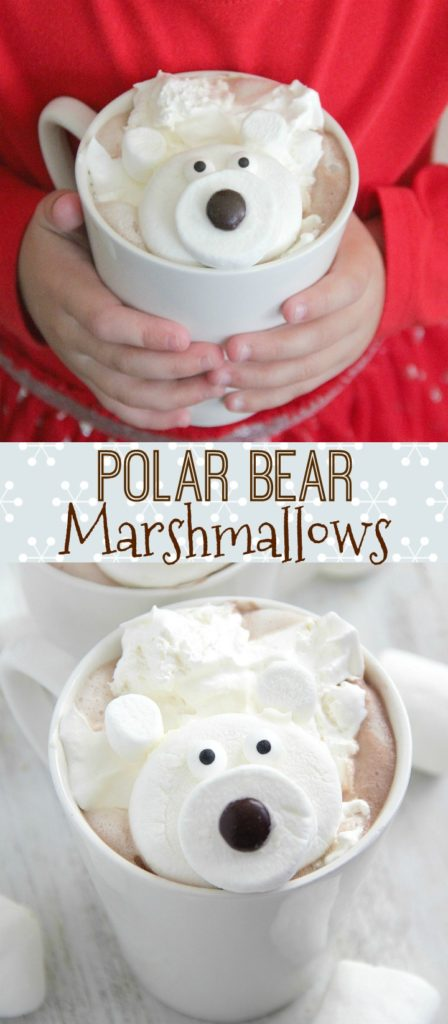 Polar Bear Marshmallows