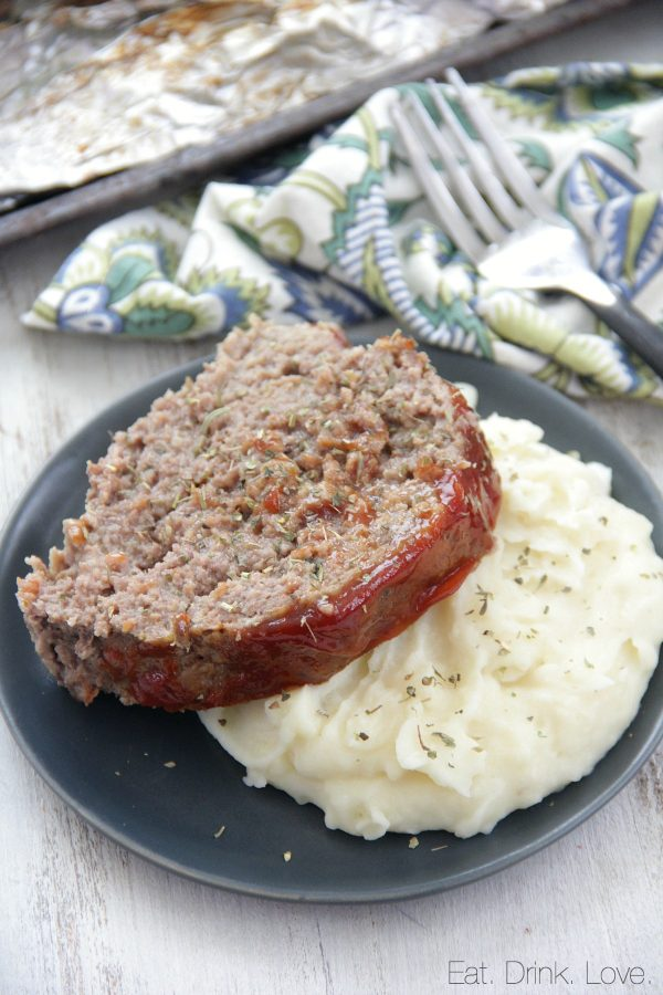 Instant Pot Meatloaf and Mashed Potatoes