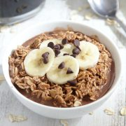 Mocha Latte Overnight Oats