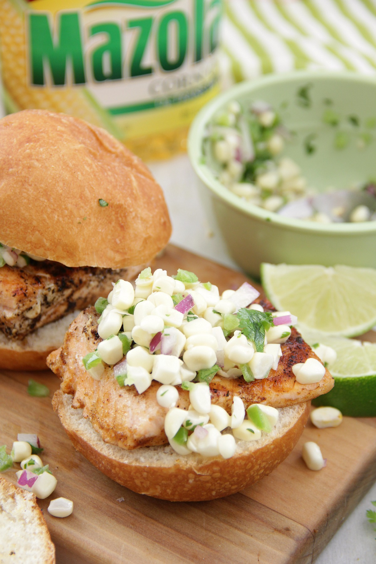 Chili Lime Salmon Sliders