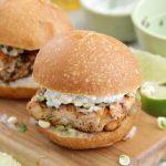 Chili Lime Salmon Sliders