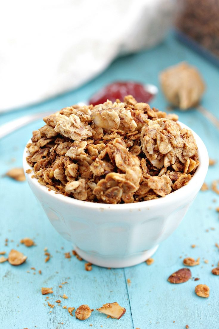Peanut Butter & Jelly Granola