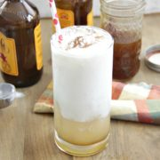 Pumpkin Ginger Beer Floats