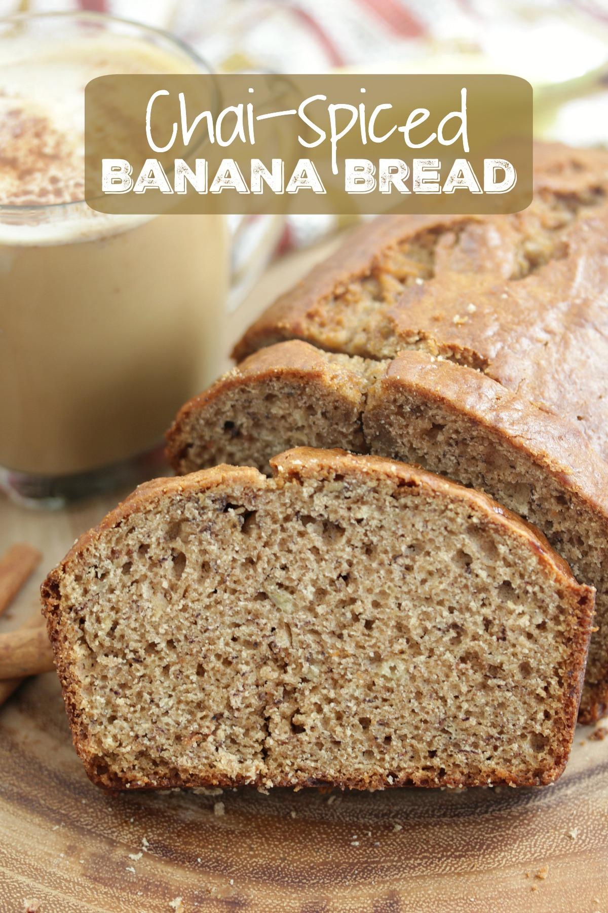 Chai-Spiced Banana Bread