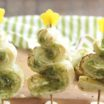 Pesto Puff Pastry Christmas Trees