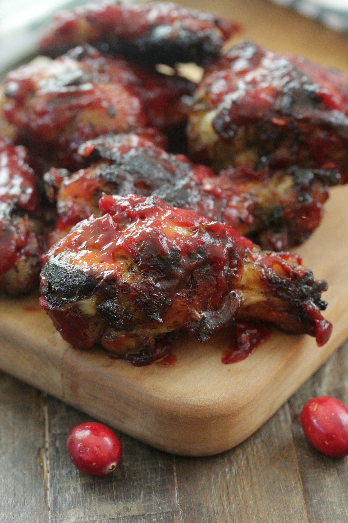 Cranberry Chipotle Chicken Wings