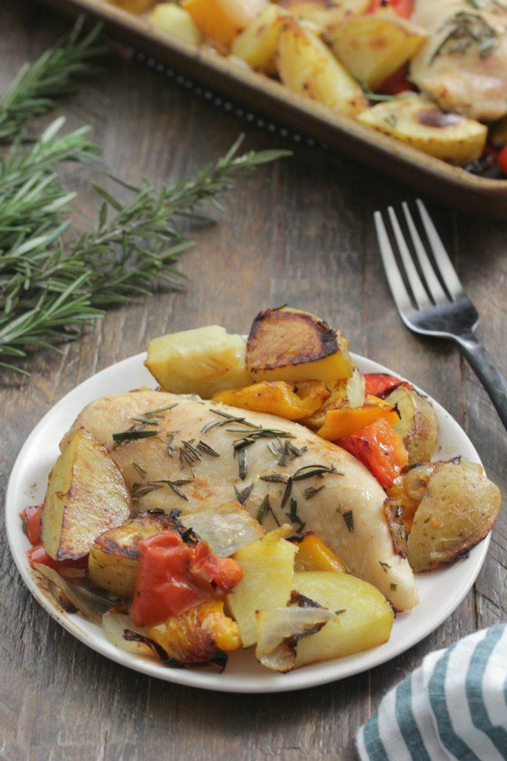 Sheet Pan Rosemary Chicken and Potatoes