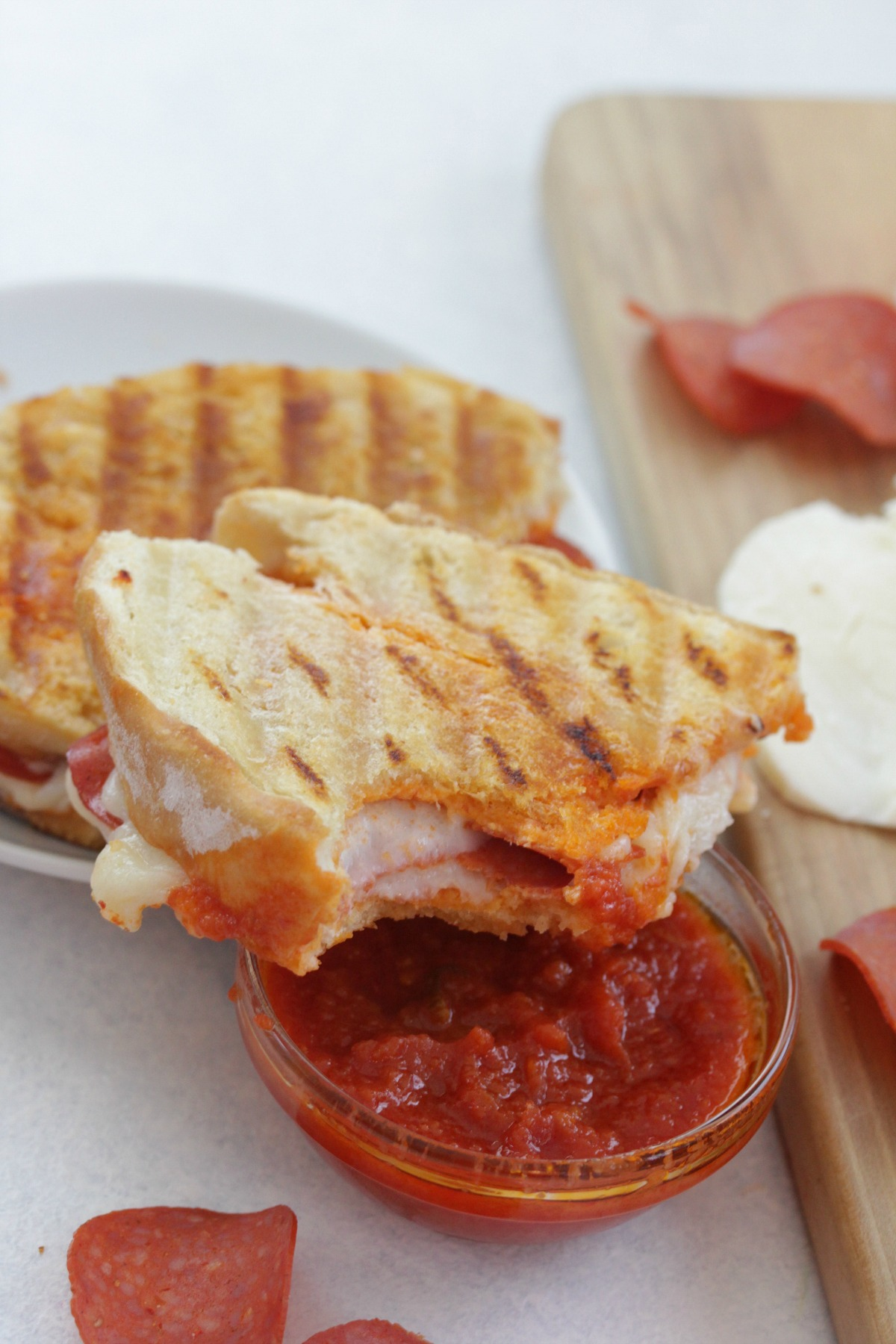 Pepperoni Pizza Panini