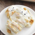 Pumpkin Cream Cheese Pastry Mummies