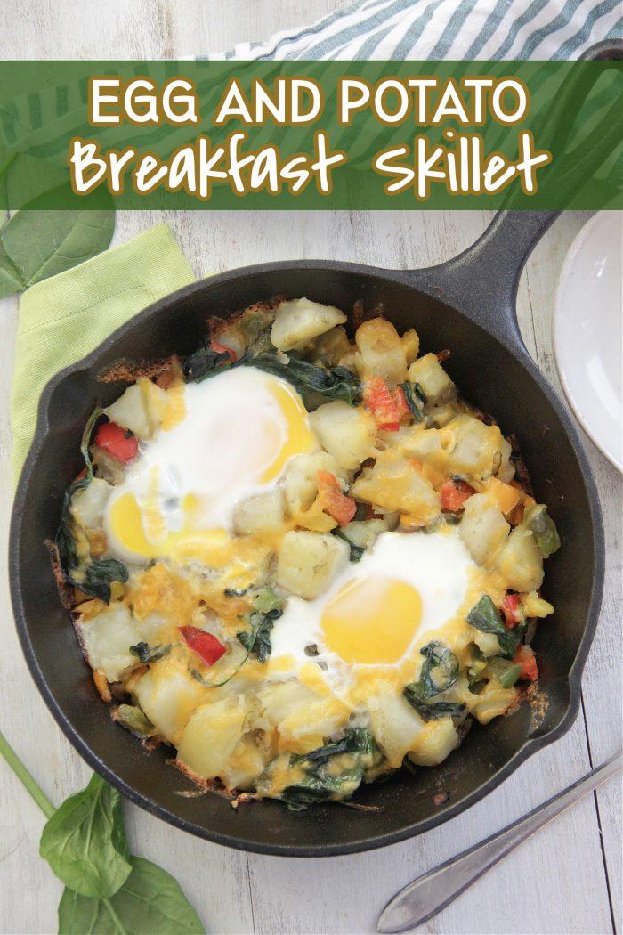 Egg and Potato Breakfast Skillet