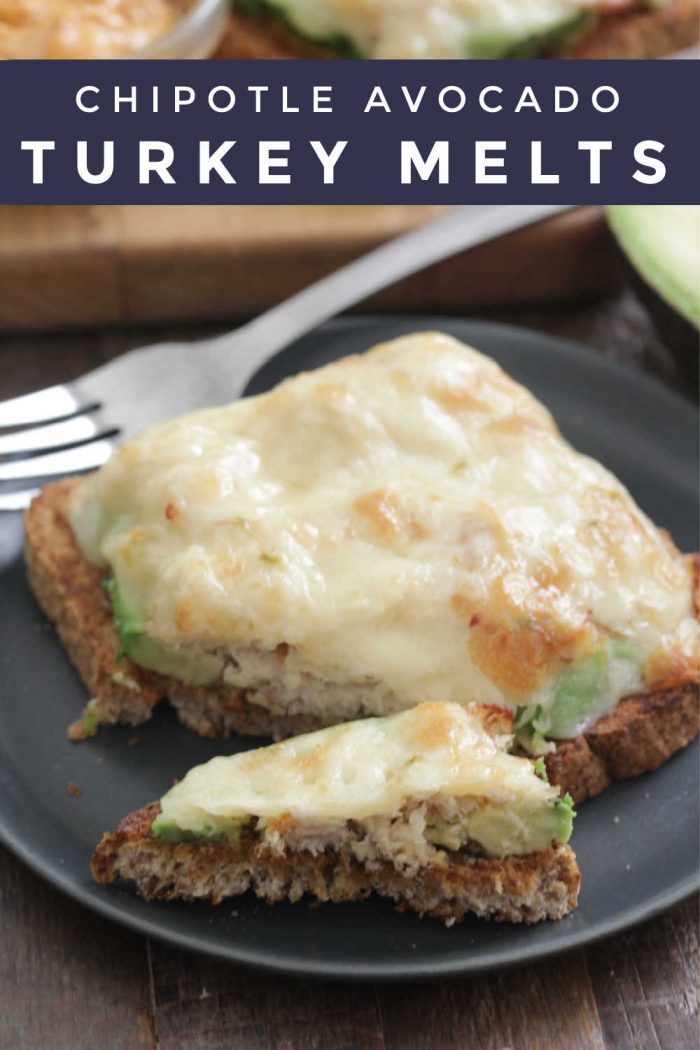 Chipotle Avocado Turkey Melts