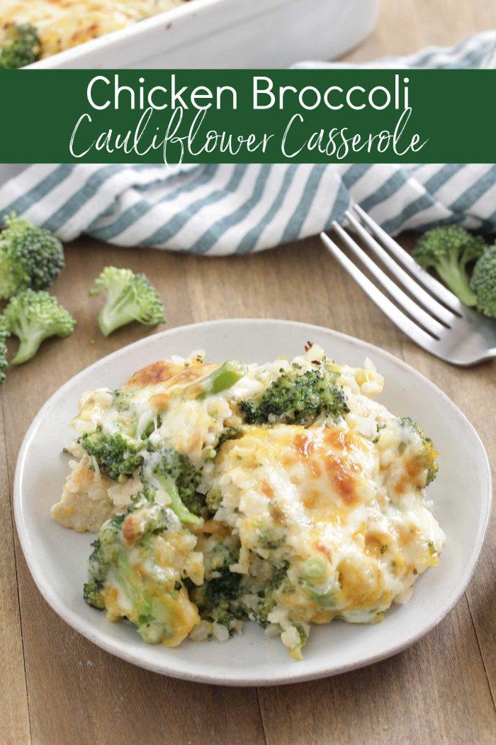 Chicken Broccoli Cauliflower Casserole