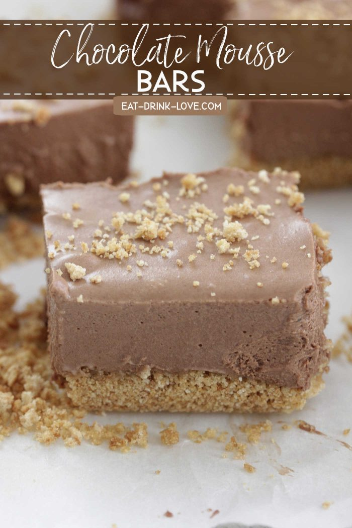 Chocolate Mousse Bars