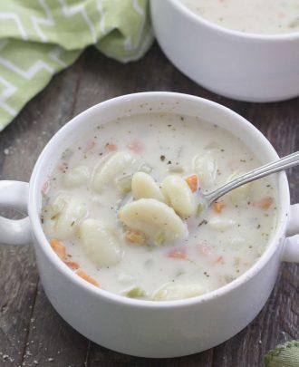 Creamy Gnocchi Soup